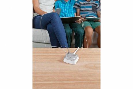 Belkin Family RockStar 4-poorts USB-lader - Wit