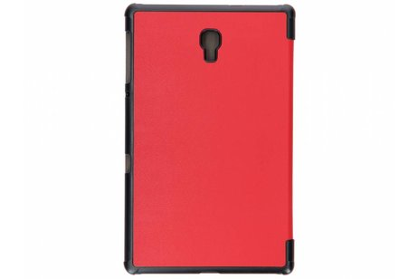Samsung Galaxy Tab A 10.5 (2018) hoesje - Rode Stand Tablet Cover