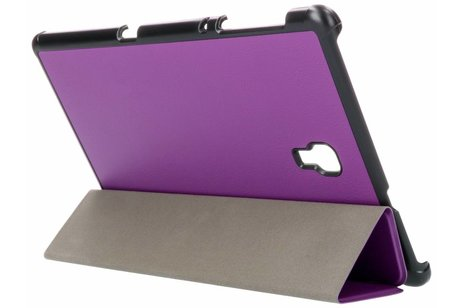 Samsung Galaxy Tab A 10.5 (2018) hoesje - Paarse Stand Tablet Cover