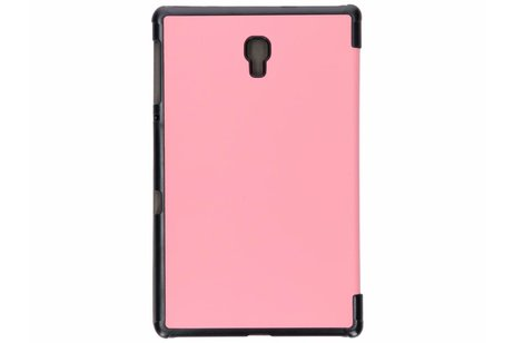 Samsung Galaxy Tab A 10.5 (2018) hoesje - Roze Stand Tablet Cover
