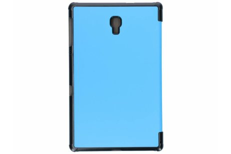 Samsung Galaxy Tab A 10.5 (2018) hoesje - Blauwe Stand Tablet Cover
