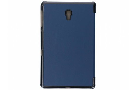 Samsung Galaxy Tab A 10.5 (2018) hoesje - Donkerblauw Stand Tablet Cover