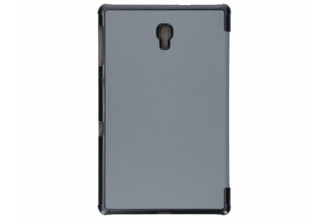 Samsung Galaxy Tab A 10.5 (2018) hoesje - Grijze Stand Tablet Cover