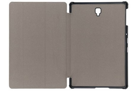 Samsung Galaxy Tab S4 10.5 hoesje - Zwarte Stand Tablet Cover