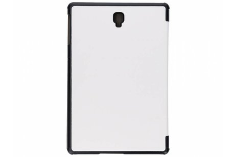 Samsung Galaxy Tab S4 10.5 hoesje - Witte Stand Tablet Cover