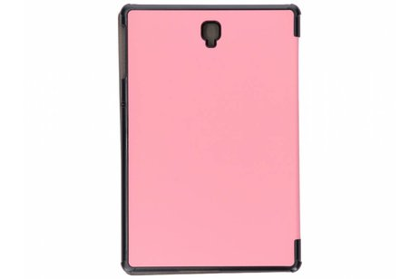 Samsung Galaxy Tab S4 10.5 hoesje - Roze Stand Tablet Cover