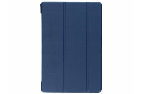 Samsung Galaxy Tab S4 10.5 hoesje - Donkerblauwe Stand Tablet Cover