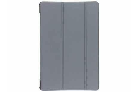 Samsung Galaxy Tab S4 10.5 hoesje - Grijze Stand Tablet Cover
