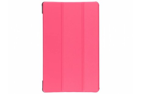 Samsung Galaxy Tab A 10.5 (2018) hoesje - Fuchsia Stand Tablet Cover