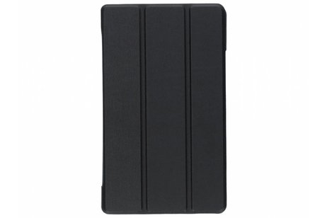 Lenovo Tab 4 8 inch hoesje - Zwarte Stand Tablet Cover