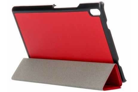 Lenovo Tab 4 8 inch hoesje - Rode Stand Tablet Cover