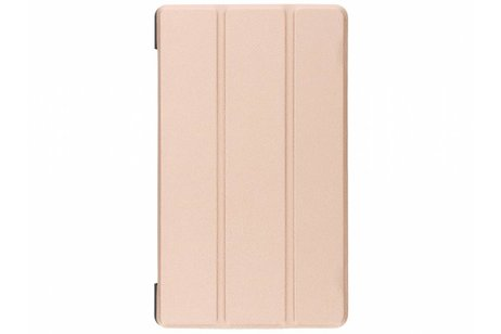 Lenovo Tab 4 8 inch hoesje - Gouden Stand Tablet Cover