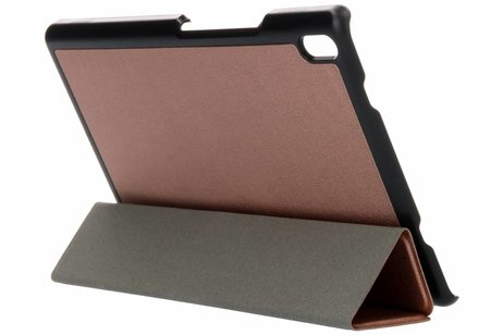 Lenovo Tab 4 8 inch hoesje - Rosé Gouden Stand Tablet