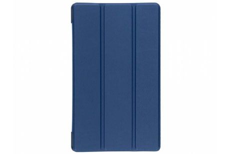 Lenovo Tab 4 8 inch hoesje - Donkerblauwe Stand Tablet Cover