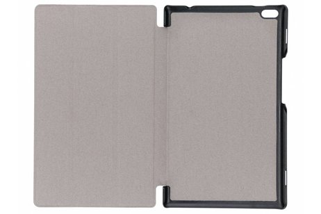 Lenovo Tab 4 8 inch Plus hoesje - Gouden Stand Tablet Cover