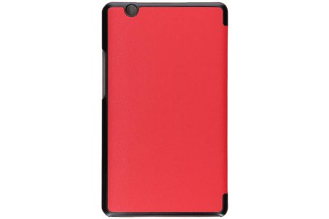 Huawei Mediapad M3 8.4 inch hoesje - Rode Stand Tablet Cover