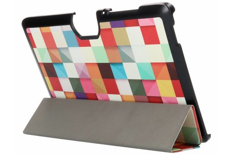 Acer Iconia Tab 10 A3-A40 hoesje - Kleurtjes design tablethoes voor