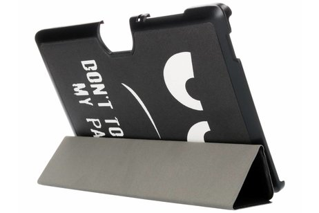 Acer Iconia Tab 10 A3-A40 hoesje - Don't touch design tablethoes