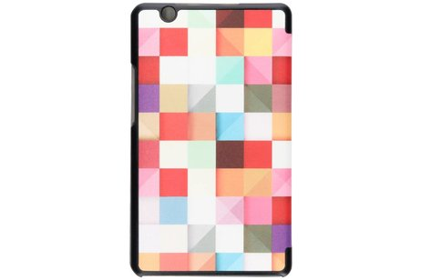 Huawei MediaPad M3 hoesje - Kleurtjes design tablethoes voor
