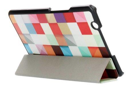 Huawei Mediapad M3 8.4 inch hoesje - Kleurtjes design tablethoes voor