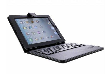 Zwarte booktype hoes met Bluetooth toetsenbord voor de iPad 2 / 3 / 4