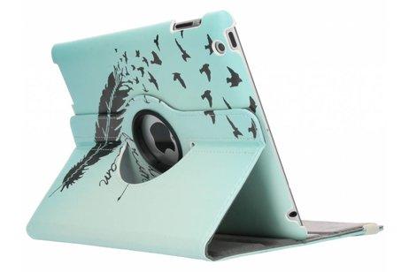 360° draaibare dare to dream design tablethoes voor de iPad 2 / 3 / 4