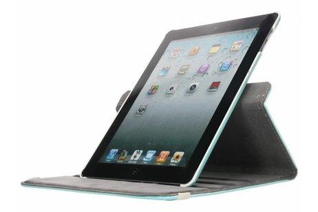 360° Draaibare Design Bookcase voor iPad 2 / 3 / 4 - Dare to Dream