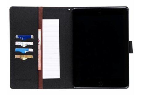 iPad Pro 9.7 hoesje - Mercury Goospery Bruine Canvas