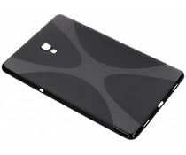 Zwart X-line TPU tablethoes Samsung Galaxy Tab A 10.5 (2018)