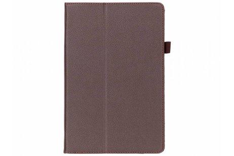 Samsung Galaxy Tab S4 10.5 hoesje - Effen Bookcase voor Samsung