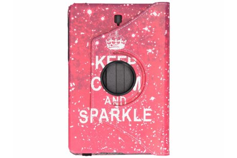 Samsung Galaxy Tab S4 10.5 hoesje - 360° draaibare sparkle design