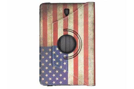 Samsung Galaxy Tab S4 10.5 hoesje - 360° draaibare vlag design