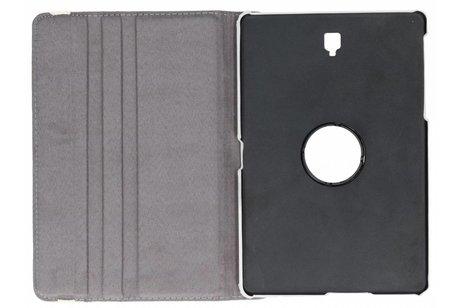 Samsung Galaxy Tab S4 10.5 hoesje - 360° Draaibare Design Bookcase