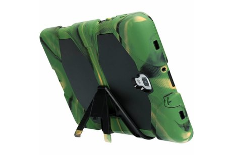 Samsung Galaxy Tab A 10.5 (2018) hoesje - Legergroene extreme protection army