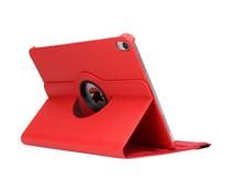Rood 360° draaibare tablethoes iPad Pro 11