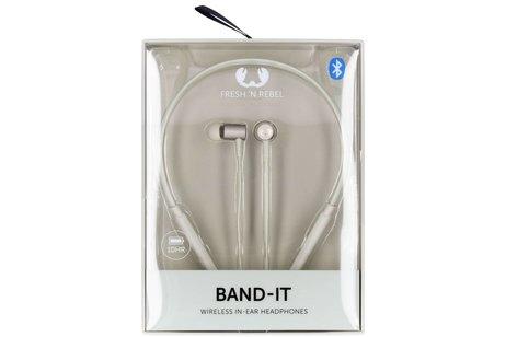 Fresh 'n Rebel Lichtgrijze Band-It Wireless In-Ear Headphones