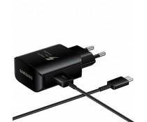 Samsung Fast Charging Adapter 25W + USB-C naar USB-kabel - Zwart