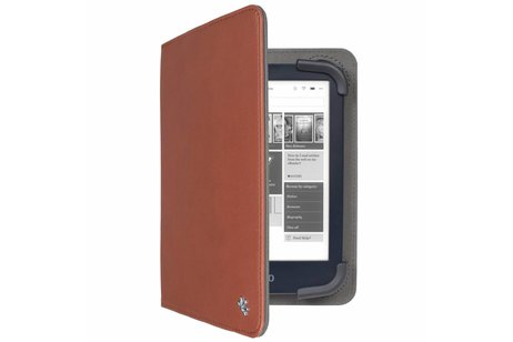 Gecko Covers Bruine Universal Stand Cover E-reader 6 - 7 inch