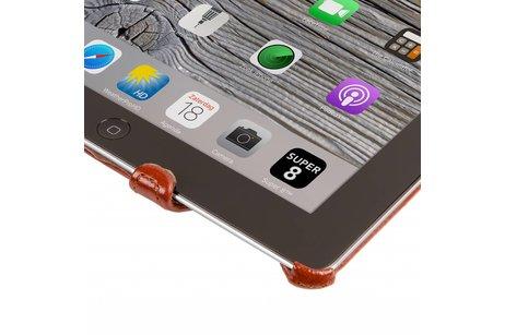 Gecko Covers Slimfit Bookcase voor iPad 4 - Bruin