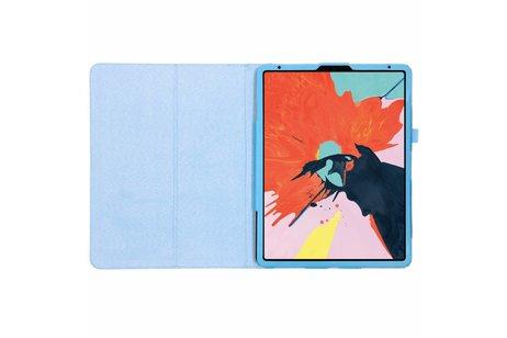 iPad Pro 12.9 (2018) hoesje - Lichtblauwe effen tablethoes voor