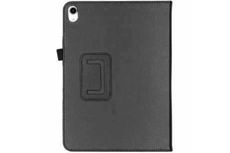 iPad Pro 11 hoesje - Zwarte effen tablethoes voor