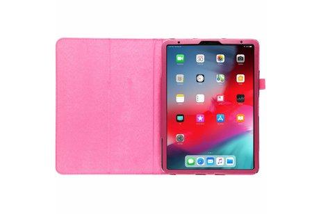 iPad Pro 11 hoesje - Fuchsia effen tablethoes voor
