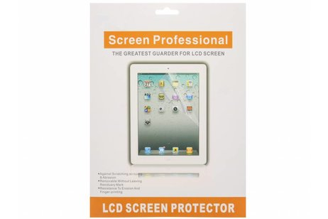 Duo Pack Anti fingerprint Screenprotector voor iPad (2017) / iPad (2018) / Air (2)