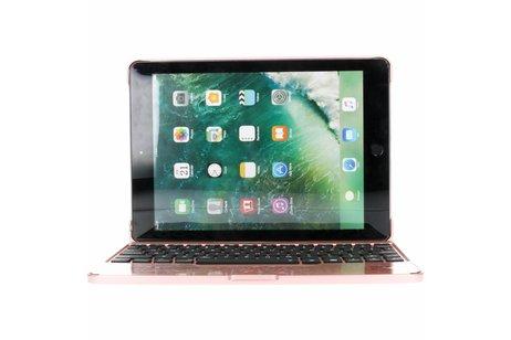 Bluetooth Keyboard iPad (2018) / (2017) / Air (2) / Pro 9.7 - Rosé Goud