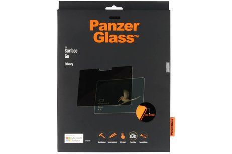 PanzerGlass Privacy Screenprotector voor de Microsoft Surface Go