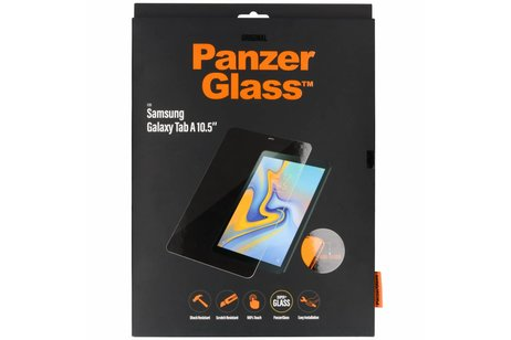 PanzerGlass Screenprotector voor Samsung Galaxy Tab A 10.5 (2018) - Transparant