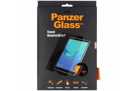 PanzerGlass Screenprotector voor Huawei MediaPad M5 8.4 inch - Transparant