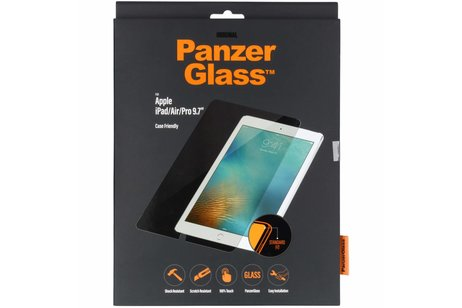 PanzerGlass Case Friendly Screenprotector voor iPad Pro 9.7 - Transparant