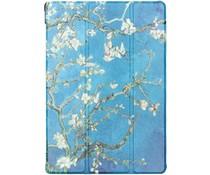Design Hardcase Bookcase Lenovo Tab M10 - Groene Plant