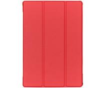 Stijlvolle Bookcase Lenovo Tab M10 - Rood